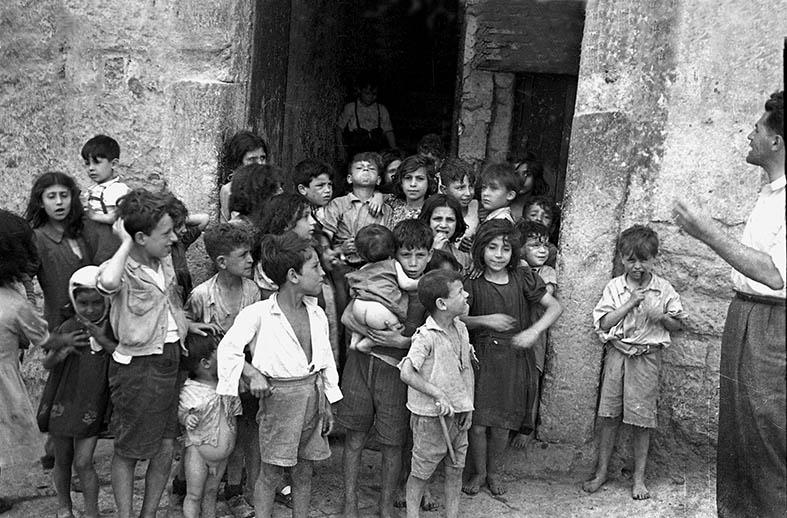 Bambini nell'immediato dopoguerra