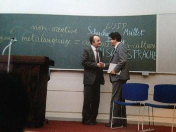 Lezione ad Osaka, ottobre 1980