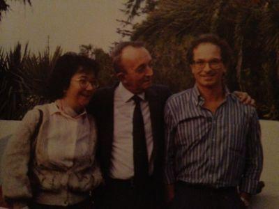 Capri, 1988, congresso SLI sulla linguistica oggi: tdm con Silvana Ferreri e Franco Lo Piparo