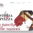 Regesta ... in piazza a Genova con il portale sul Risorgimento