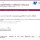 Il sito dell'AS di Perugia: uno strumento di comunicazione pubblica
