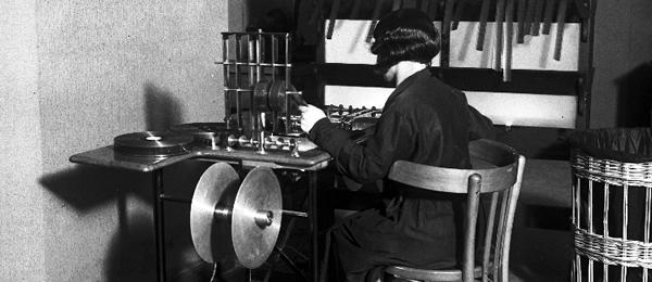 Cinema sonoro L.U.C.E, 1932