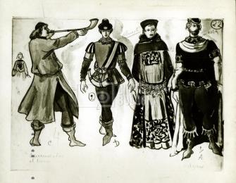 Bozzetti per la Corona di Ferro