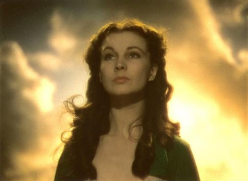 Vivien Leigh in Via col vento