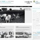 Sulle terre della Riforma: il portale tematico di Cinecittà Luce e Arsial