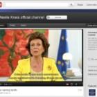 Una piattaforma online per discutere di agenda digitale: nuova iniziativa del commissario Kroes