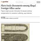 The Guardian rivela: il Foreign Office ha nascosto in un enorme archivio segreto documenti sulla  tratta degli schiavi