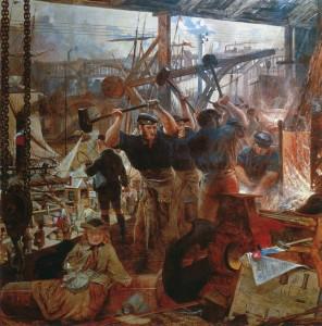 William Bell Scott, Iron and Coal, 1855-1860