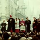 Ingresso a Milano del nuovo arcivescovo Carlo Maria Martini, Milano 10 febbraio 1980