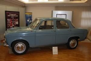 """Auto modello """"Giulietta"""" Alfa Romeo di Enrico Mattei"""