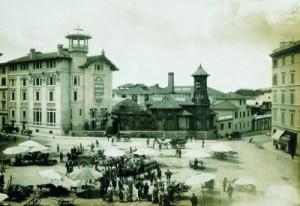 Stabilimento Birra Peroni e Chalet, Roma 1910 ca. (Archivio storico e Museo Birra Peroni, Fondo Fotografico, 1910 ca)