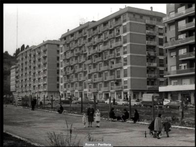 Roma, periferia. Archivio Cederna