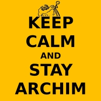 keepcalmarchim