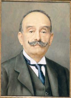 Ritratto di Giovanni Peroni - materiale tratto dall'Archivio Storico Peroni