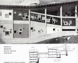 Archivio Gellner: particolare della Colonia tratta da una pubblicazione d'epoca
