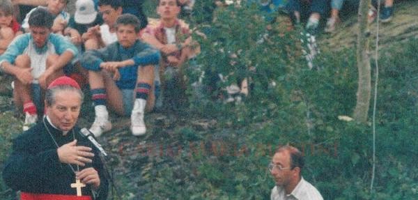 Fotografia di Enrica Maggioni, agosto 1985, donata alla Fondazione
