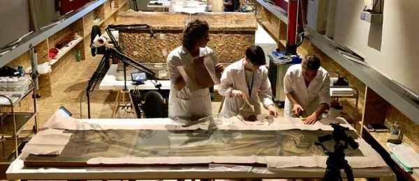 La digitalizzazione di un dittico di Paolo Veronese