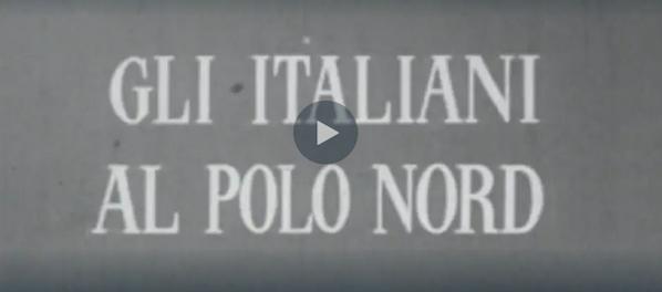 Un frame dell'inchiesta tv di Gianni Bisiach Gli italiani al Polo Nord